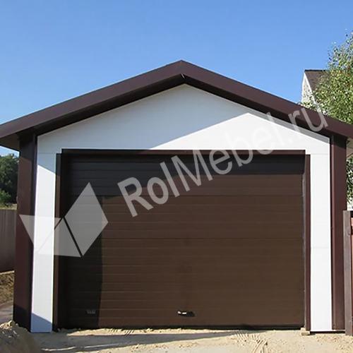 Проект каркасного гаража 6х8